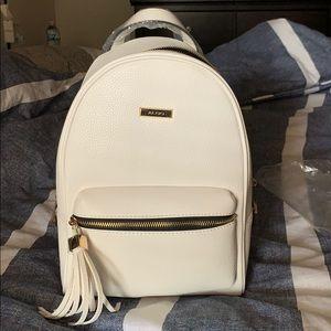 Small White Aldo Backpack